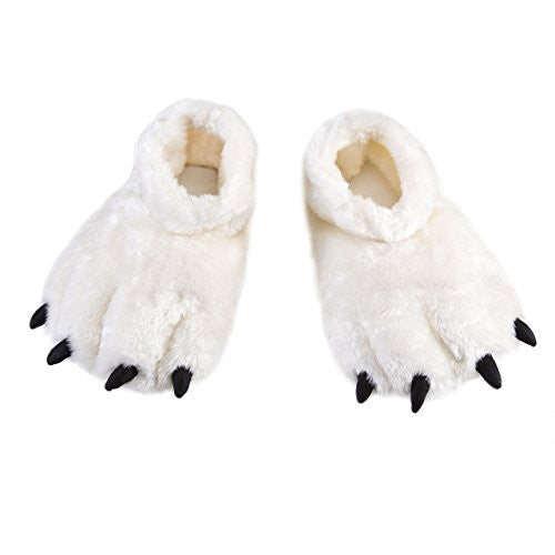 Polar Bear Adult Slippers (Adult Small / Medium)