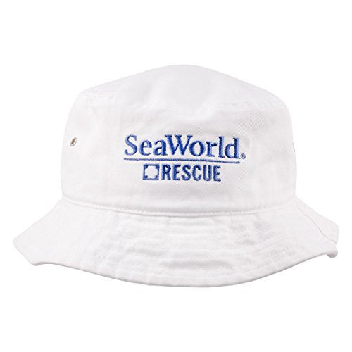 SeaWorld Rescue White Adult Bucket Hat – SeaWorld Shop f919e0317f8