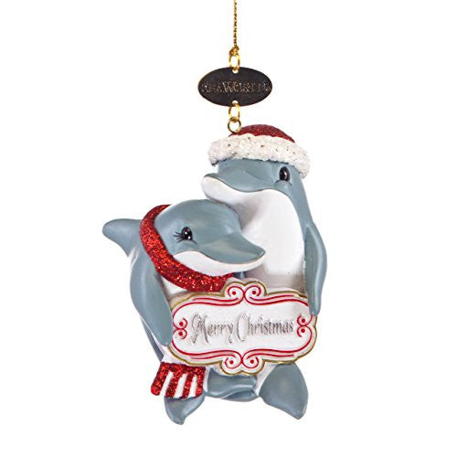 Dolphin Mates Ornament
