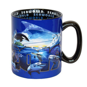 SeaWorld 2019 Dated Coffee Mug