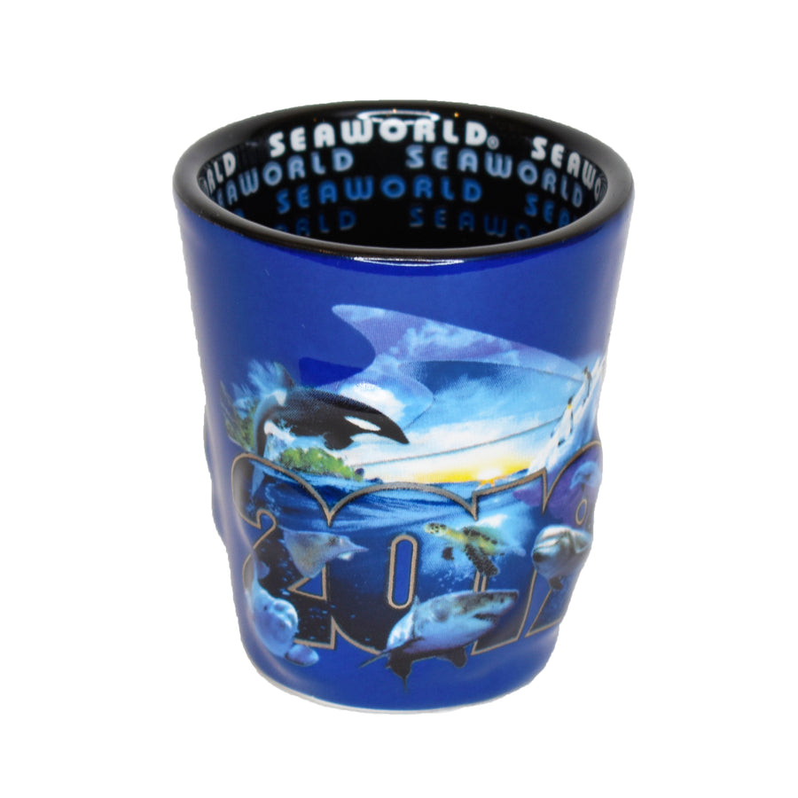 SeaWorld 2019 Dated Shot Glass