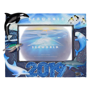 "SeaWorld 2019 Dated Frame - 4"" x 6"""
