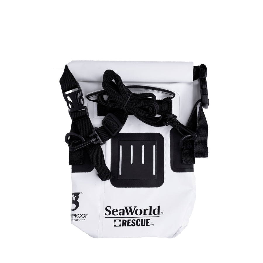 SeaWorld Rescue Waterproof Phone Tote - White