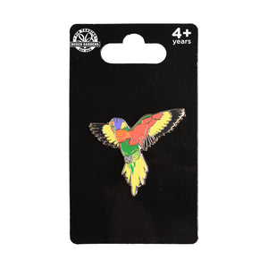 Lorikeet Pin