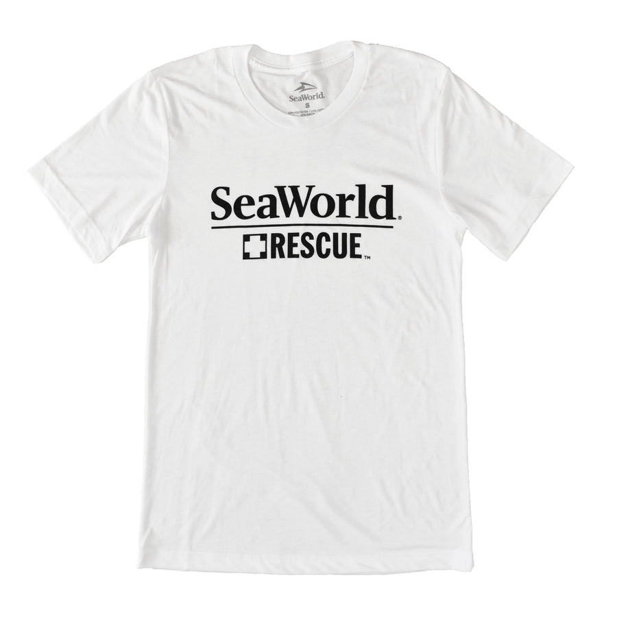 SeaWorld Rescue Logo Tee - White