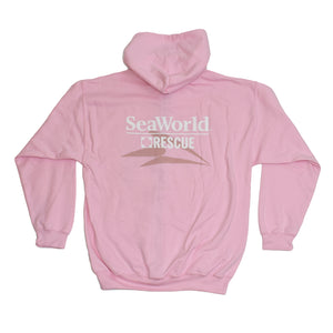 SeaWorld Rescue Ladies Zip Hoodie - Pink