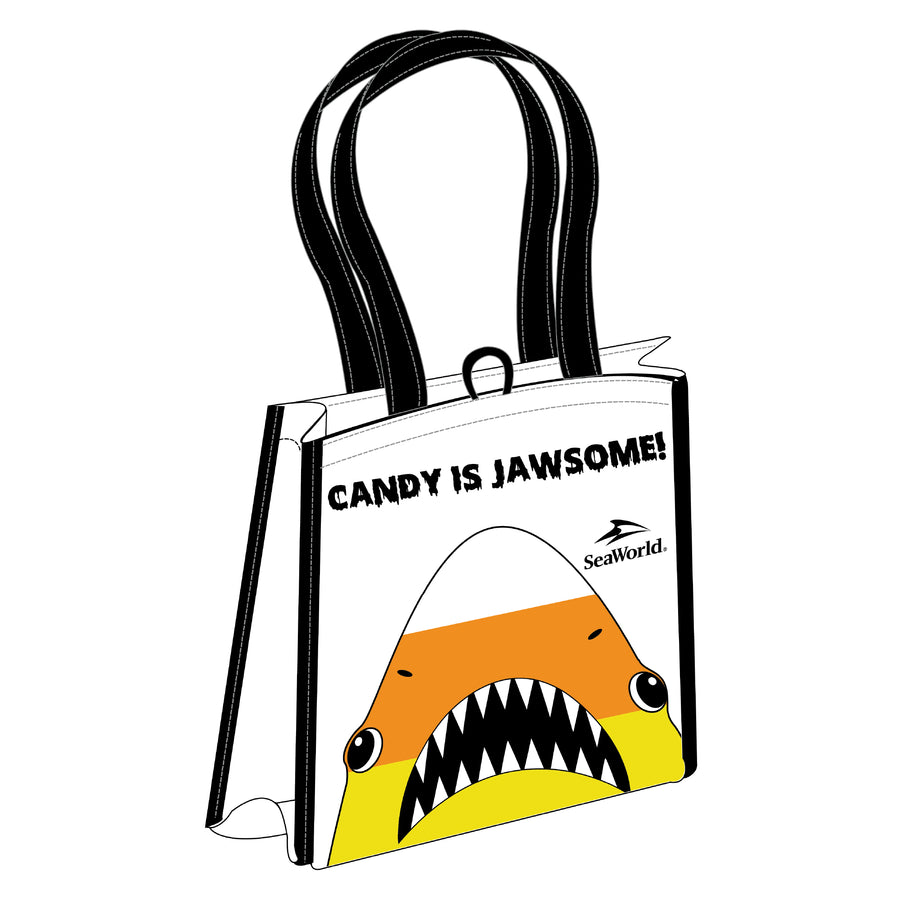 Halloween Candy is Jawsome! Reusable Bag