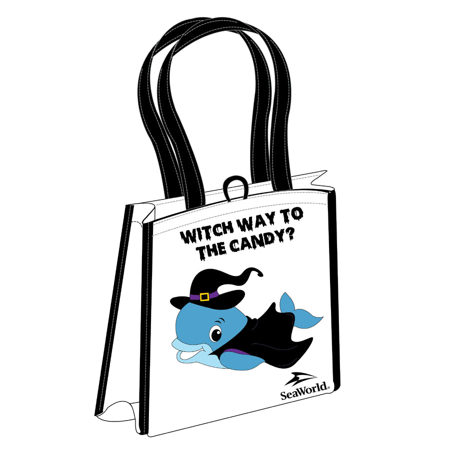 Halloween Witch Way to the Candy Reusable Bag