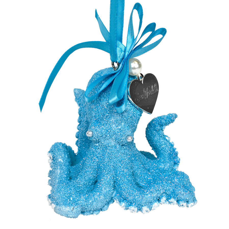 SeaWorld Blue Octopus Ornament