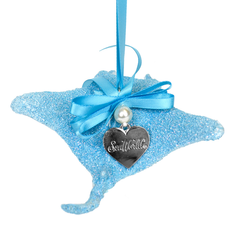 SeaWorld Blue Stingray Ornament