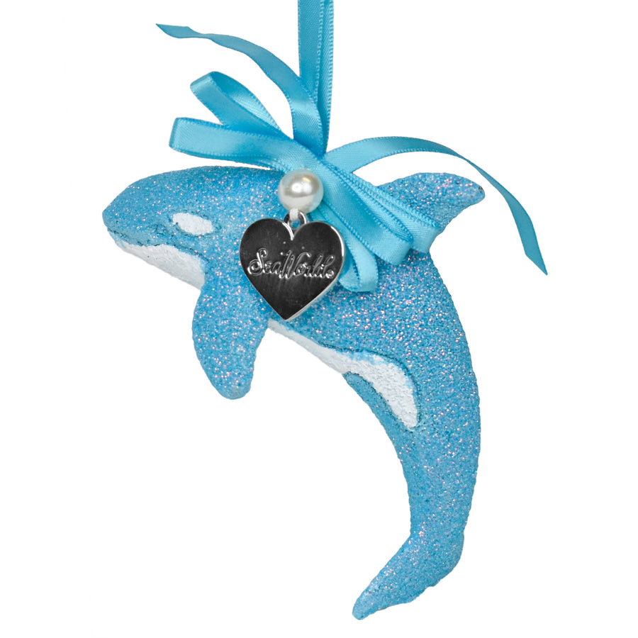 SeaWorld Blue Orca Ornament