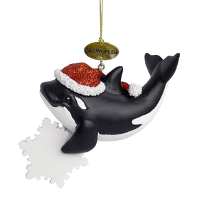 SeaWorld Orca Star Ornament