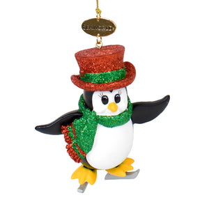 SeaWorld Penguin Skate Ornament