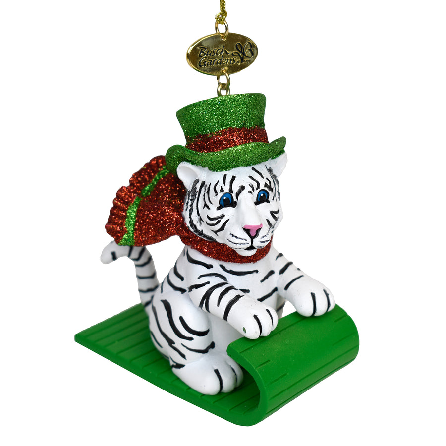 Busch Gardens Tiger Ornament