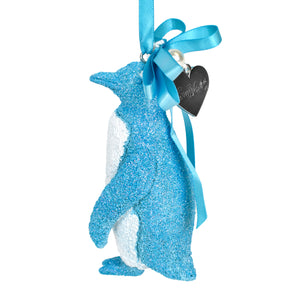 SeaWorld Blue Penguin Ornament