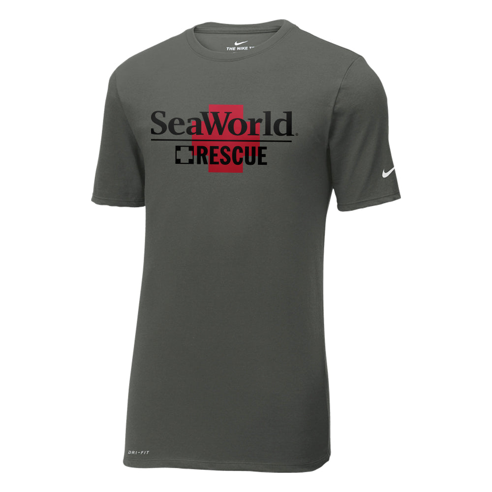 SeaWorld Rescue Nike Dri-FIT Cotton/Poly Tee