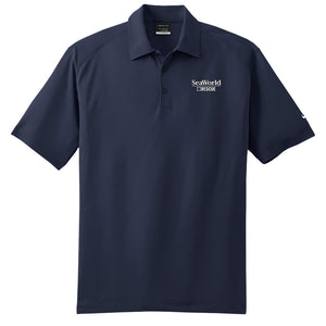 SeaWorld Rescue Nike Dri-FIT Mini Texture Polo