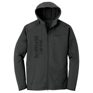 SeaWorld Rescue Nike Therma-FIT Textured Fleece Full-Zip Hoodie