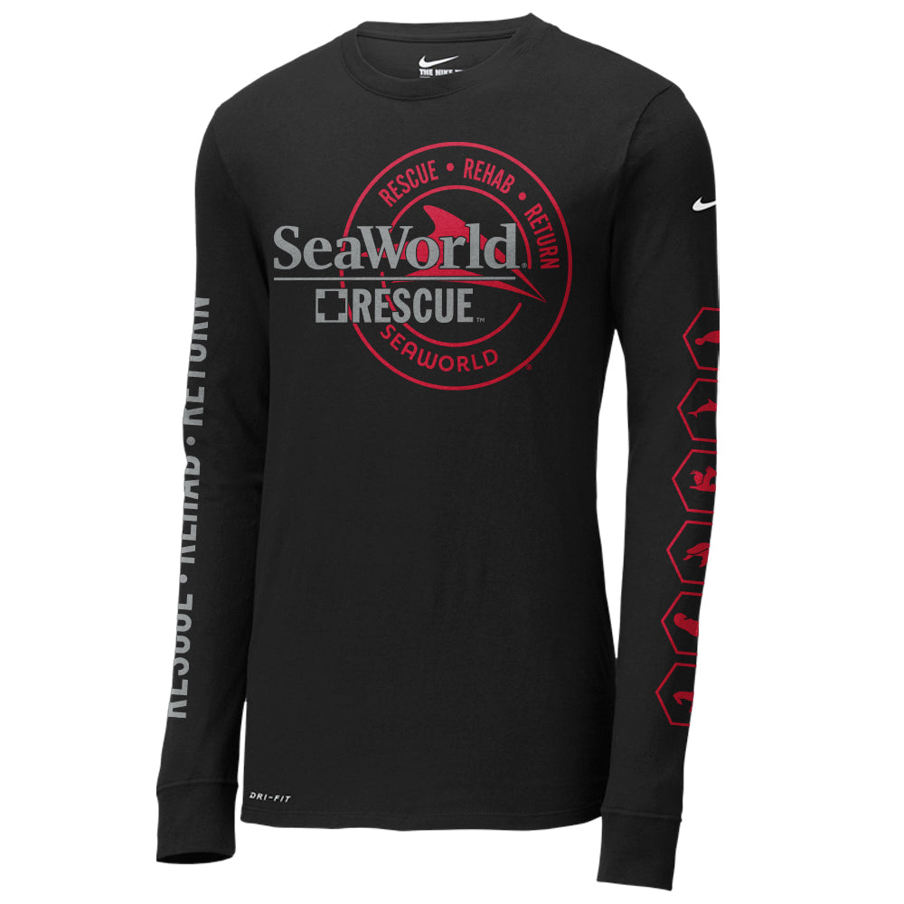 SeaWorld Rescue Nike Dri-FIT Long Sleeve Tee