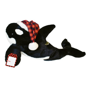 Orca Plush Buffalo Plaid