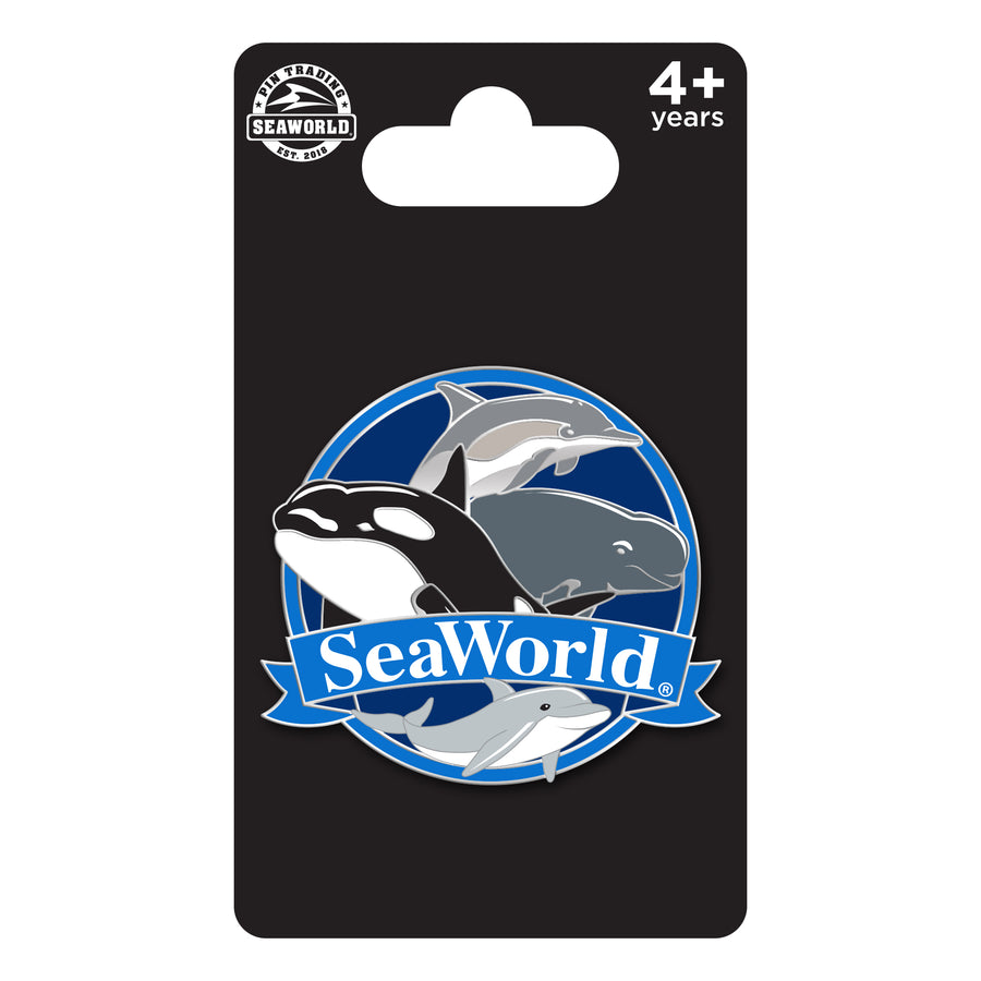 SeaWorld Porpoise Species Pin