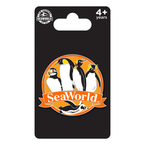 SeaWorld Penguin Species Pin