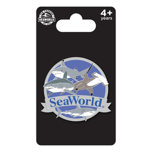 SeaWorld Shark Species Pin