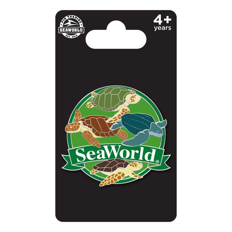 SeaWorld Turtle Species Pin