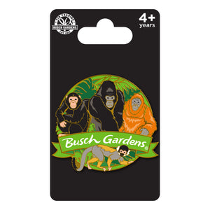 Busch Gardens Tampa Primate Cluster Pin