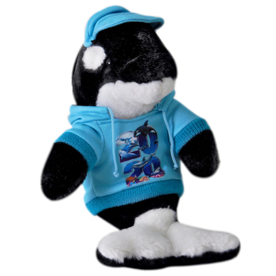 2020 Orca with Hoodie Plush 9""