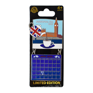 National Tea Day April 2020 Calendar Pin