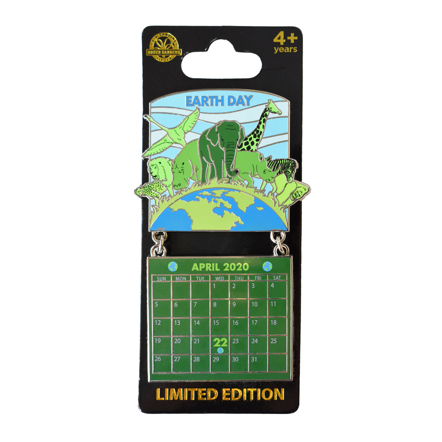 Earth Day April 2020 Calendar Pin