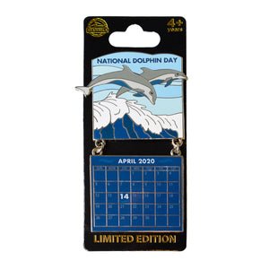 National Dolphin Day April 2020 Calendar Pin