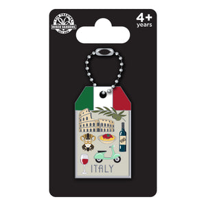 Busch Gardens Williamsburg Luggage Tag Italy Pin