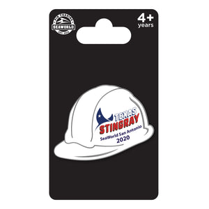 SWT Stingray Hardhat Special Edition Pin