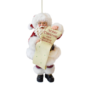 Busch Gardens Dream Santa Ornament