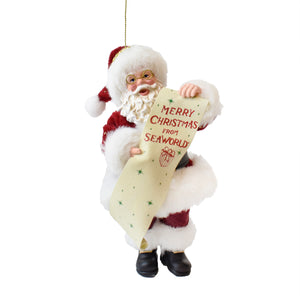 SeaWorld Dream Santa Ornament