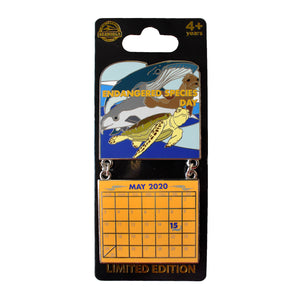 Endangered Species Day May 2020 Calendar Pin