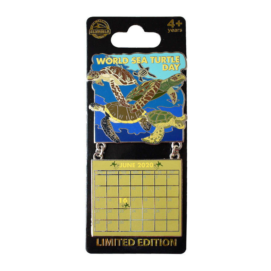 World Sea Turtle Day June 2020 Calendar Pin
