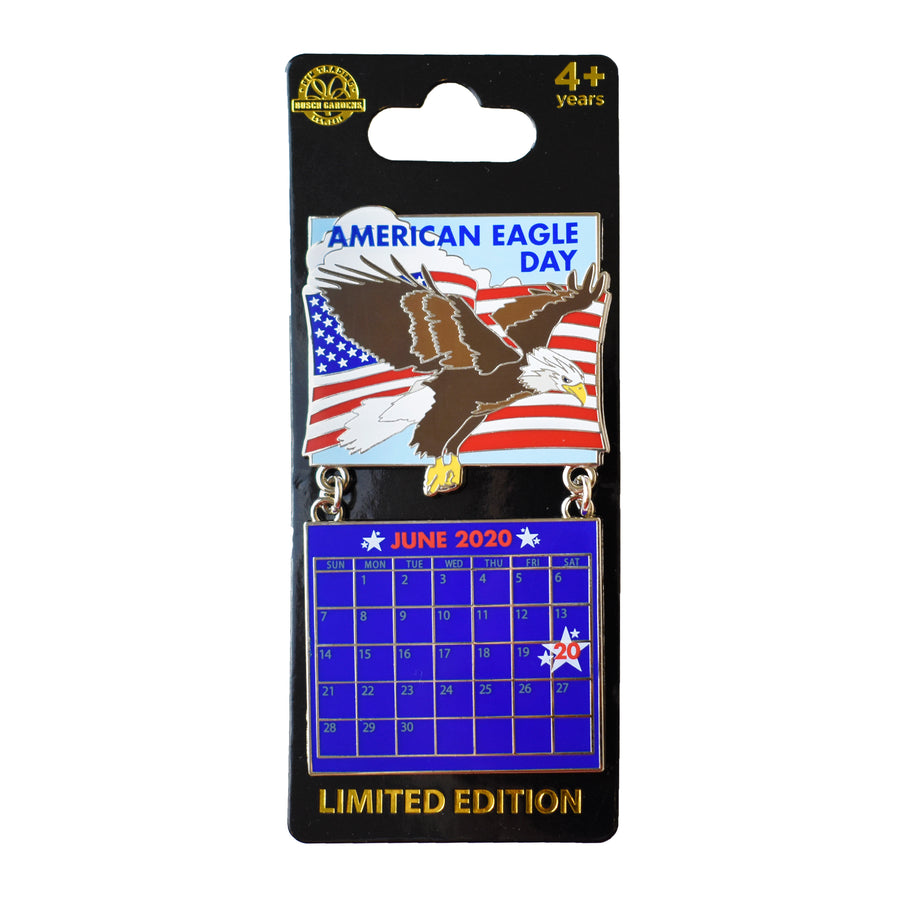 American Eagle Day June 2020 Calendar Pin