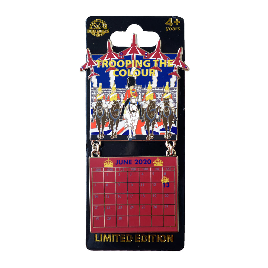 Trooping the Colour June 2020 Calendar Pin