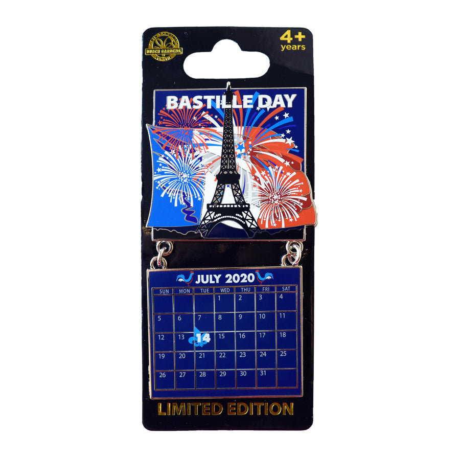 Bastille Day July 2020 Calendar Pin