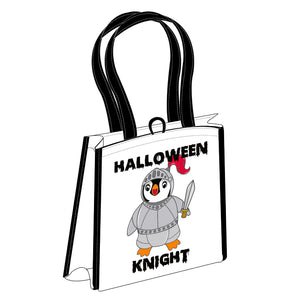 Halloween Knight Reusable Bag
