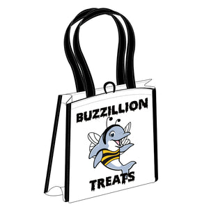 Buzzillion Treats Reusable Bag
