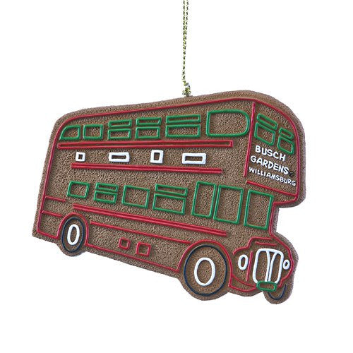 Double Decker Gingerbread Resin Ornament