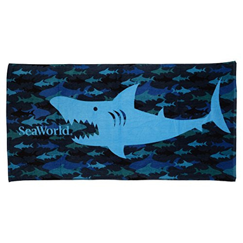 Shark Chomper Towel