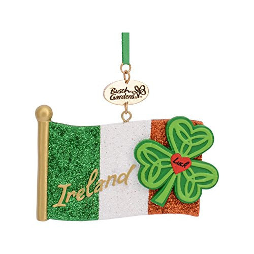 Ireland Flag Resin Ornament
