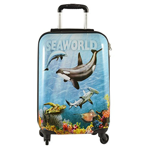 SeaWorld Collage Hard Sided Luggage