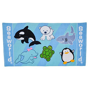 SeaWorld Swim Team Beach Towel