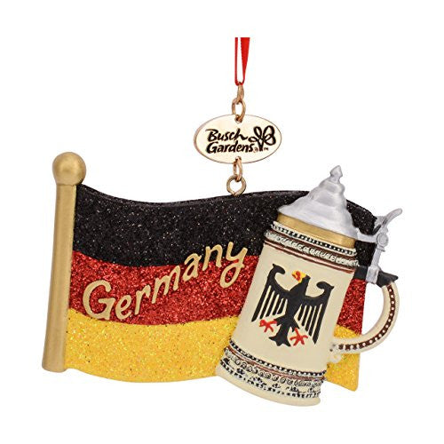 German Flag Resin Ornament